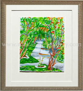 8110620_ronnie_wood_painting_trees_watercolor_pencil_paper_2w