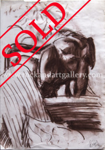 8110622_ronnie_wood_drawing_elephant_pastel_paper_w