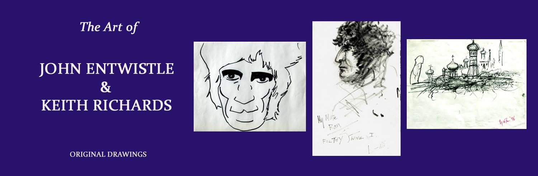 The-Art-of-John-Entwistle-Keith-Richaards-Kopie
